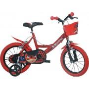 "Bicicleta copii DINO BIKES 144R-LB, Roti 14"", MIRACULOS-BUBURUZA"