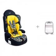Bertoni Автокресло Bertoni (Lorelli) Arthur sps isofix и ProtectionBaby Защитная накидка на спинку переднего сиденья автомобиля
