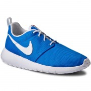 Pantofi NIKE - Roshe One (GS) 599728 422 Photo Blue/White/Safety Orange