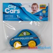 My First City Car rágóka - Police zacskóban