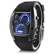 Speed Meter Style Digital LED Light Watch