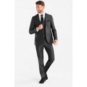 C&A Kostuum met vest en das-Slim Fit, Grijs, Maat: 56