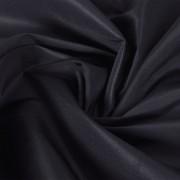 vidaXL Țesătură micro-satin, 1,45 x 20 m, negru