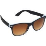 Hawai Wayfarer Sunglasses(Brown, Blue)