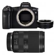 Canon Eos R + Rf 24-240mm F/4-6.3 Is Usm + Adattatore – 2 Anni Garanzia Italia-Menu Italiano