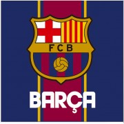 Detský vankúš - FC Barcelona