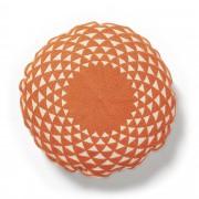 Kave Home Capa de almofada Zayla laranja
