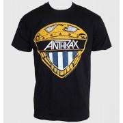tricou stil metal bărbați femei unisex Anthrax - Eagle Shield - ROCK OFF - ANTHTEE10MB