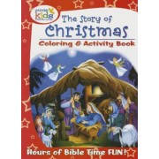 The Story of Christmas Coloring and Activity Book, Paperback