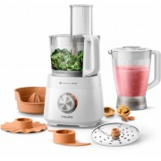 Кухненски робот, Philips HR7510/00, 800W, 1.5L, Бял (HR7510/00)