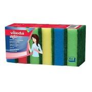 Burete vase Rainbow 6/set Vileda