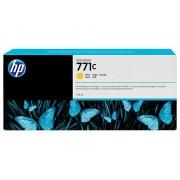 HP 771C Yellow Designjet Ink Cartridge, 775ml (B6Y10A)