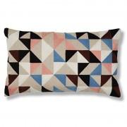 La Forma Sierkussen Renaud multicolor design 100% katoen (30 x 50 cm)