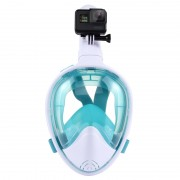 PULUZ 260mm Tube Water Sports Diving Equipment Masque Snorkel complet pour GoPro HERO5 / 4/3 + / 3/2/1, taille S / M (Vert)
