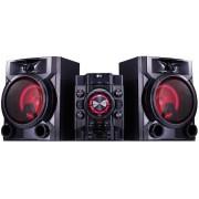 MINI SYSTEM LG 600W com Bluetooth MP3 Karaokê USB CD AM FM