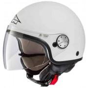Axo Subway Basic Jet Helmet White Matt