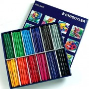Staedtler Noris Club - 144 Fine Tip Marker Pens. Assorted colours. Washable ink.