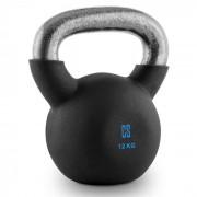V-ket 12 Kettlebell Peso Vinil Áspero Fitness Musculação 12 kg