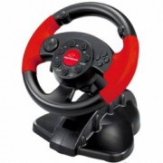 Volan Gamming PC Playstation 2 Playstation 3 13 butoane si vibratii Esperanza High Octane