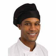 Chef Works Toque Chefs Hat Black Size: One Size