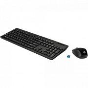 Kit Teclado + Mouse sem Fio C200 Preto HP