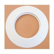 MBM Rosone bianco in silicone DN 100 mm d. esterno 170 mm. canna fumaria pellet