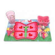 Melissa & Doug Bella Butterfly Mealtime Set