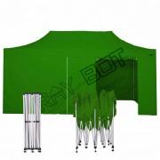 ray bot Gazebo pieghevole 3x6 verde professionale con laterali PVC 350g