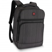 Bolso Morral Swiss Brand Gleather Ex Bpk 3.0-Gris