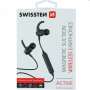 Casti Wireless Bluetooth Cu Microfon Samsung iPhone Allview Huawei LG Asus Negre