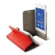 KSix Étui universel folio pour smartphone avec slide - jusqu'à 6'' - Rouge