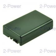 2-Power Digitalkamera Batteri Pentax 7.2v 1050mAh (D-LI109)