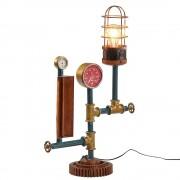 Tischlampe aus Eisen Vintage Look