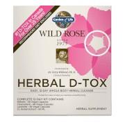 Garden of Life Kit 12 jours - Wild Rose Herbal D-Tox