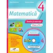 Matematica caietul elevului clasa a IV-a contine CD