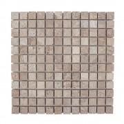 Mozaic Travertin Latte Antichizat 2.3 x 2.3 cm
