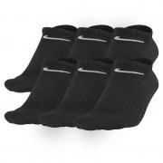 Nike Non-Cushion No-Show Socken (6 Paar) - Schwarz