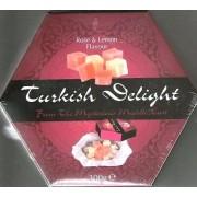 Pasha Turkish Delight Rose & Lemon Flavour 300g box X 2