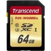 Card Memorie Transcend SDXC 64GB Clasa 10