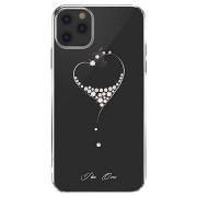 Kingxbar Wish Series Swarovski iPhone 11 Pro Max Cover - Zilver