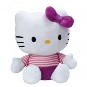 Jemini hello kitty knuffel doll pluche meisjes paars 35 cm