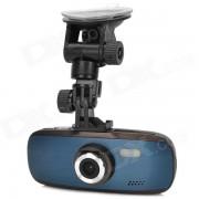 """""""GS108 2.0 """"""""TFT FHD 1080p 3.0 MP 130 grados gran angular grado coche DVR con g-sensor / TF / HDMI - negro"""""""