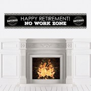 Big Dot of Happiness Happy Retirement - Party Decorations Banner