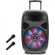 iDance Groove 540 mobiele accu-speaker incl. 2 microfoons