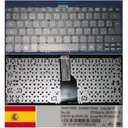 Clavier Qwerty Espagnol / Spanish Pour ACER Aspire S3 S3-951, Aspire S5, Aspire ONE 756, TravelMate B1 Series, Noir / Black, Model: NSK-R12PC, P/N: 9Z.N7WPC.20S, PK130NS2A18