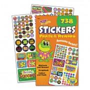 Sticker Assortment Pack, Praise/reward, 738 Stickers/pad