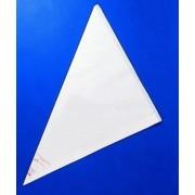 Sacchetto decorazione in plastica trasparente a strappo monouso Lunghezza cm 46 Confezione da 100 pezzi Modello 506-011