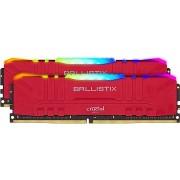 Crucial 32GB KIT DDR4 3200MHz CL16 Ballistix Red RGB
