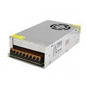 Fuente de alimentacion S-240-24 24V 10A para camara de vigilancia / lampara LED / tableta PC-plateado
