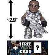"Augustus Cole Train Cole: ~2.9"" Funko Mystery Minis x Gears of War Mini Vinyl Figure + 1 Video Games Themed Trading Card Bundle (11356)"